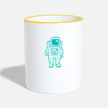 Clipart Astronaut clipart - Contrasting Mug