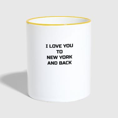 New York Love - Mok tweekleurig