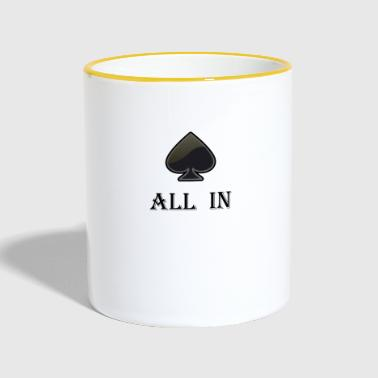 All In - Mok tweekleurig