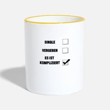 Relation relations - Mug contrasté
