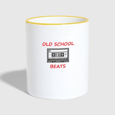 Old School Beats - Mug contrasté