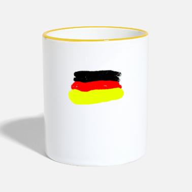 Germany Germany Germany - Contrasting Mug