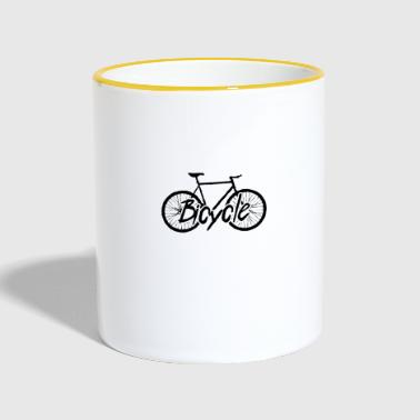 Bicycle Cycling Bicycle Tour Bicycle - Contrasting Mug