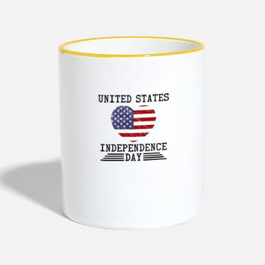 Independence Day Independence Day - Contrasting Mug