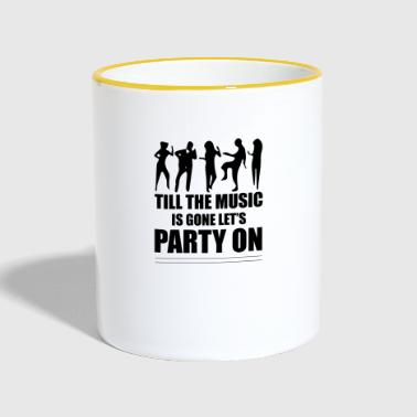 Party - Tasse zweifarbig