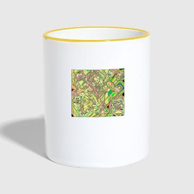 Pattern Abstract pattern - Contrasting Mug