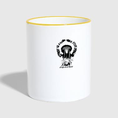 Fig Apache indian gift - Contrasting Mug