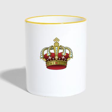 Crown RED & GOLD - Contrasting Mug
