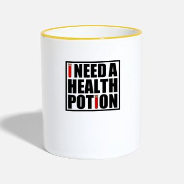 Health Health potion - Mok tweekleurig