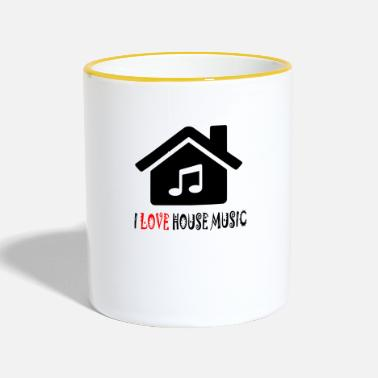 House Camicia Party House House House - Tazze bicolor