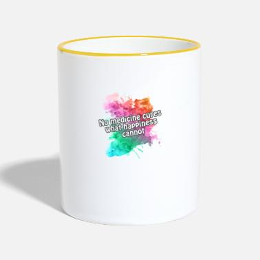 Happiness hapiness - Mug bicolore