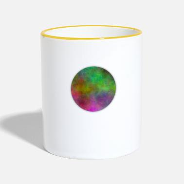 Gradient Circle with gradient - Two-Tone Mug