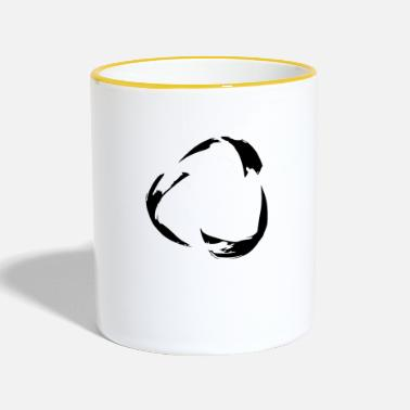 Orbit orbit - Two-Tone Mug