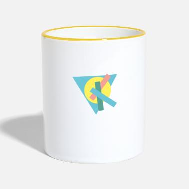 Geometry geometries - Contrasting Mug