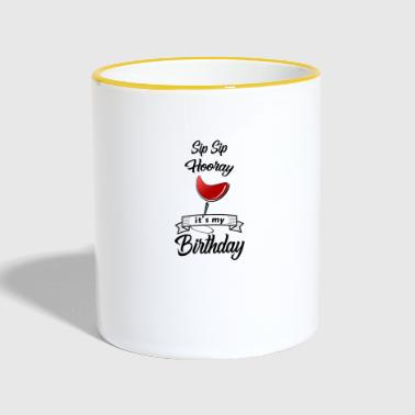 Birthday Birthday Birthday Party Birthday Gift - Contrasting Mug