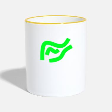 Waves waves - Two-Tone Mug