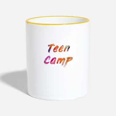 Teens Teen Camp - Tasse zweifarbig