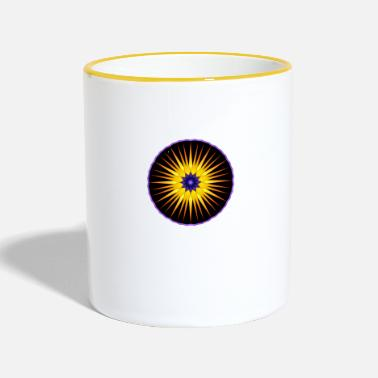Colour Contrast Bright Star Contrast - Two-Tone Mug