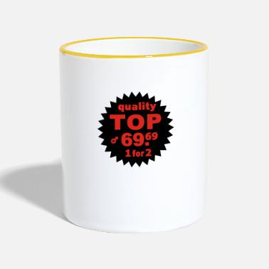 Bottom Quality Top - Two-Tone Mug