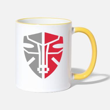 Graphic Art Mask Graphic Art - Two-Tone Mug