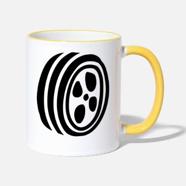 Hoop hoops - Two-Tone Mug