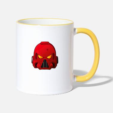 Blood Angels Space Marine Helmet - Two-Tone Mug