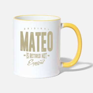 Mateo Mateo! T-shirts and Hoodies for you - Two-Tone Mug