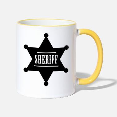 Sheriff Sheriff - Two-Tone Mug