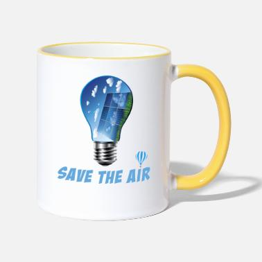 Air Air - Save the air - Two-Tone Mug