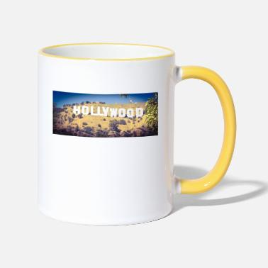 Hollywood Hollywood - Tasse zweifarbig