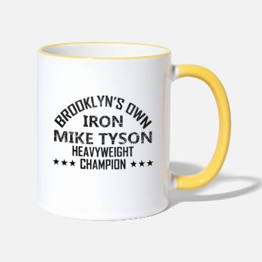 Tyson iron mike tyson - Two-Tone Mug