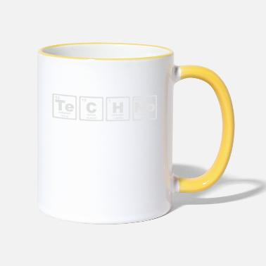Periodic TECHNO PERIODIC TABLE - Two-Tone Mug