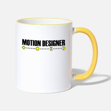 Motion Motion Designer - Two-Tone Mug