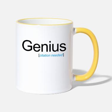 Undervalue Genius [citation needed] - Two-Tone Mug