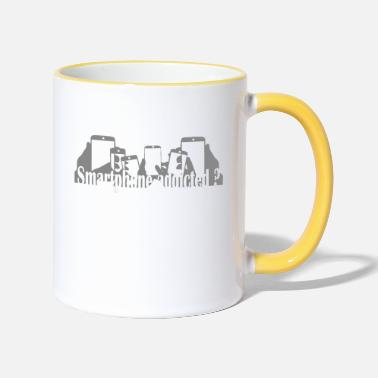 Smartphone Addict - Two-Tone Mug