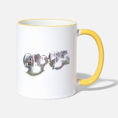 Fountain fountain - Two-Tone Mug