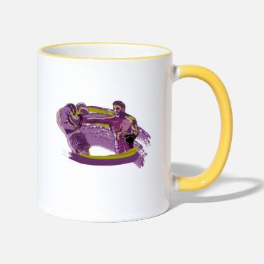 Knock Out Knock Out - Two-Tone Mug