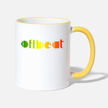 Music Offbeat, Reggae music - Two-Tone Mug