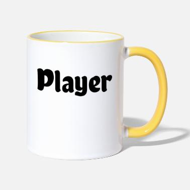 Player Player - Two-Tone Mug