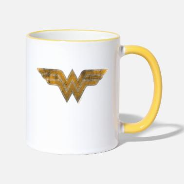 Officialbrands Justice League Wonder Woman Logo Tasse - Tasse zweifarbig