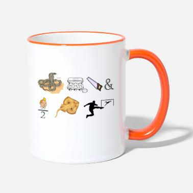 This is a rebus - Two-Tone Mug