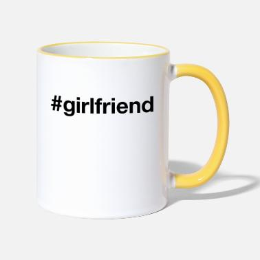 Girlfriend GIRLFRIEND - Two-Tone Mug
