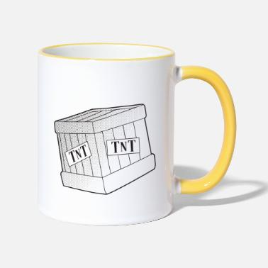 Tnt TNT box - Two-Tone Mug