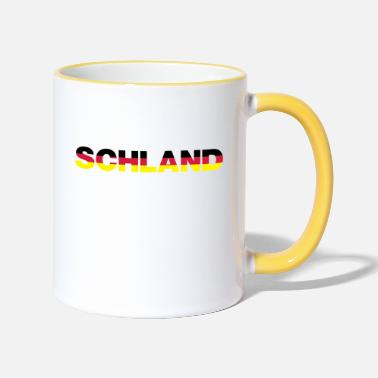 Schland Schland colors - Two-Tone Mug