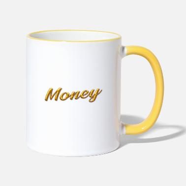 Gold gold money gold - Two-Tone Mug
