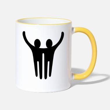 Together Together - Two-Tone Mug