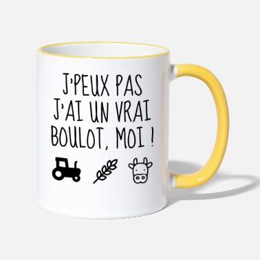 Agriculture Agriculture / Agriculteur / Ferme / Paysan - Mug bicolore