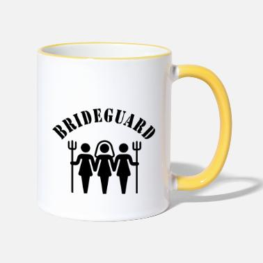 Hen Night Brideguard (hen night) - Tasse zweifarbig