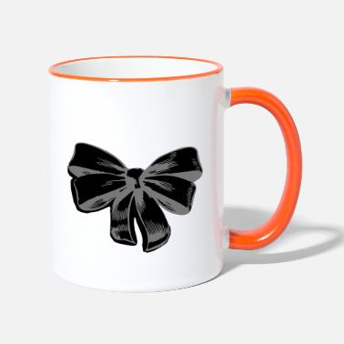 Ribbons ribbon - Two-Tone Mug
