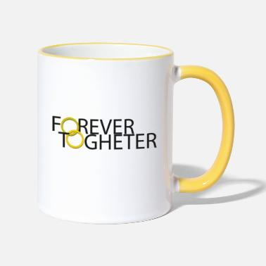 Wedding Contest Forever Togheter (wedding contest) - Two-Tone Mug